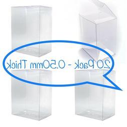 "20 FUNKO POP! BOX PROTECTORS FOR 4"" VINYL FIGURE 0.50mm SUPE"