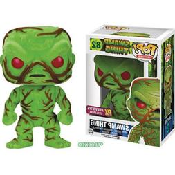 Funko 2016 SDCC PX POP Heroes Swamp Thing Flocked Scented Fi
