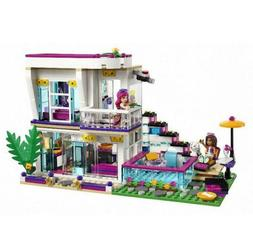 601pcs Livi's Pop Star House DIY Building Blocks Andrea Doll