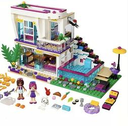 619PCS Pop Star Livi's House Building Block Friends for Girl