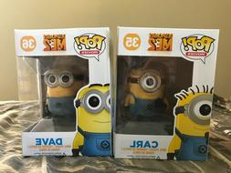 6x Brand New POP Minion Figures
