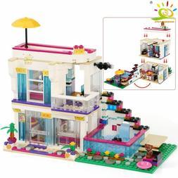 760PCS Pop Star Girls House Building Block Compatible Friend