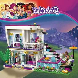 760PCS Pop Star Livi's House Building Block Friends for Girl