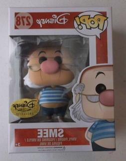 DISNEY TREASURES SMEE 278 FUNKO VINYL POP FIGURE NEW PIRATE'