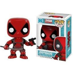 Deadpool Marvel Comics 20 Bobble Head Funko Pop! Vinyl Figur