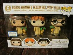 FUNKO POP! HARRY POTTER, RON WEASLEY & HERMIONE GRANGER VINY
