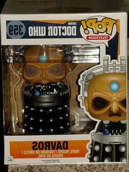 "FUNKO POP Television DR Doctor Who DAVROS #359 6"" Vinyl Figu"