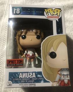 FUNKO Sword Art Online POP! ASUNA VINYL FIGURE HOT TOPIC EXC