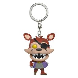 Funko Freddy Fazbear's Pizza Pocket POP Rockstar Foxy Keycha