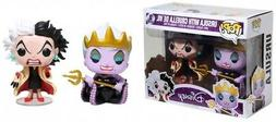 Funko POP! Disney Ursula with Cruella De Vil Exclusive Vinyl