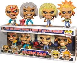 Funko POP! Rocks Iron Maiden 4 Pack AE Exclusive GITD Collec