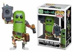 Funko Pop Animation Rick and Morty Pickle Rick with Laser Vi