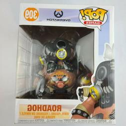 "Funko Pop Games Overwatch RoadHog 6"" Vinyl Action Figure"