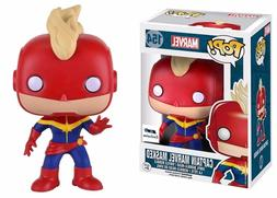 Funko Pop! Heroes Captain Marvel Masked Gts Exclusive #154 V