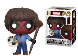 Funko Pop Marvel Deadpool Playtime Bob Ross Vinyl Action Fig