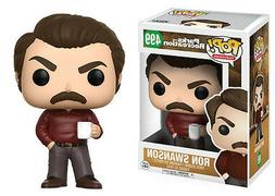 "Funko Pop Ron Swanson 3.75"" Vinyl Figure Parks and Recreatio"
