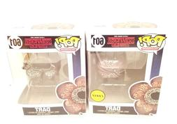 "Funko Pop Set Of 2 Stranger Things DART and CHASE 3.75"" Viny"