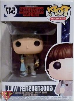 "GHOSTBUSTER WILL Stranger Things Pop Television 4"" Vinyl Fig"