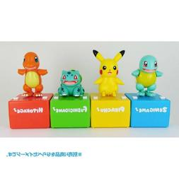 New Pokemon Go Pop'n Step Squirtle Zenigame Toy Figure Takar
