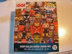 POP Marvel Figures Collage Puzzle 100 Pieces New – Punishe