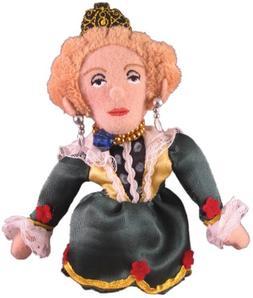Queen Elizabeth I Finger Puppet and Refrigerator Magnet