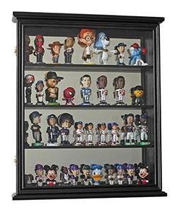Wall Curio Cabinet Shadow Box Display Case for Figurines or