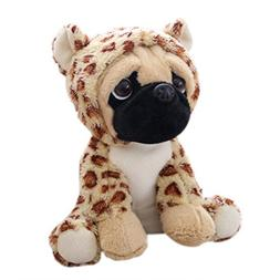 AMOFINY 24CM Puppy Cartoon Plush Cute Dress Up Doll Stuffed