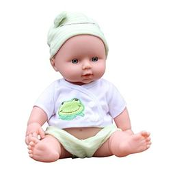 AMOFINY Baby Emulated Doll Soft Children Reborn Baby Doll To