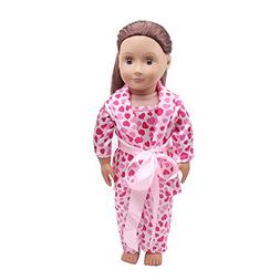 AMOFINY 4PC Sleep Clothes American Girl Generation Dolls Paj