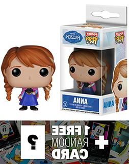 Anna: Pocket POP! x Disney Frozen Mini-Figure + 1 FREE Class