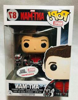 Ant-Man Funko Pop! 87 Marvel Collector Corps Exclusive Bobbl