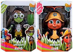 AYB Products Beat Bugs Puzzle Pal Buzz & Crick Figures - Ste