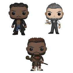 Black Panther M'Baku, Erik Killmonger with Scar, and Ulysses