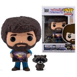 Bob Ross and Raccoon Funko Pop #558 Television The Joy of Pa