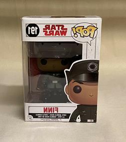 Brand New! Funko POP! Star Wars The Last Jedi Finn Bobblehea