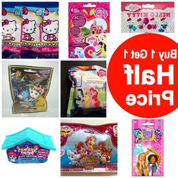 Buy 1 Get 1 50% OFF  Girls Blind Bag Figures Lot of 3 Bags
