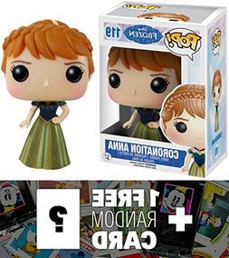 Coronation Anna: Funko POP! x Disney Frozen Vinyl Figure + 1