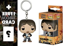 Daryl Dixon: Pocket POP! x Walking Dead Mini-Figure Keychain