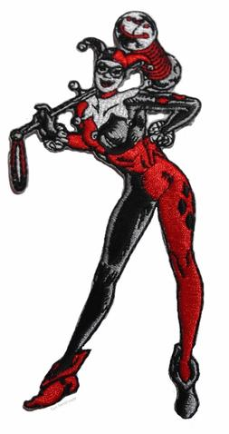 "DC Comics Harley Quinn Standing Figure 4 3/4"" Tall Embroider"