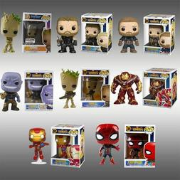 DC Marvel Avengers Iron Man/Groot/Batman/Thor Figure POP Key