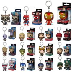 DC Marvel Avengers Iron Man/Groot/Batman Figure Funko POP Ke