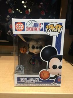 Disney NBA Experience Mickey Mouse Basketball 553 Pop Vinyl