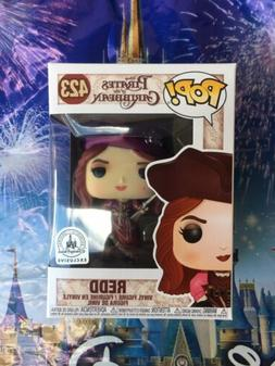 Disney Parks Exclusive Pirates Of The Caribbean Redd #423 Po