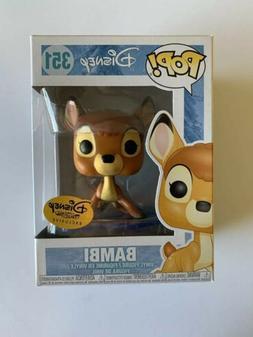 Disney Funko Pop! Bambi on Ice #351 Disney Treasures Exclusi