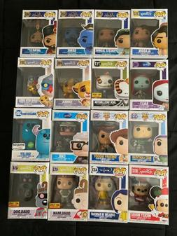 Disney Funko Pop Lot Of 16 Boxed Figures New