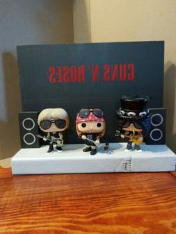 Display Stage For Funko Pop Music Guns N Roses Figures. Disp