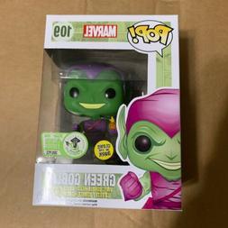 Eccc 2016 Marvel Pop Green Goblin #109 GITD Bobblehead Figur