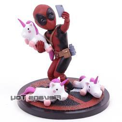 <font><b>QMX</b></font> Marvel Deadpool # Unicornselfie Q Fi