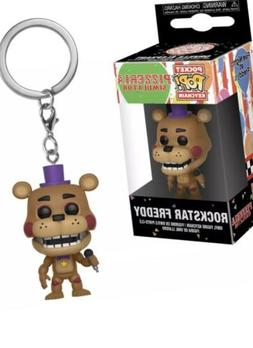 Funko Freddy Fazbear's Pizza Pocket POP Rockstar Freddy Keyc