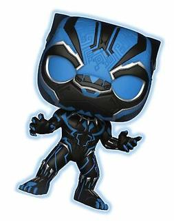 funko marvel black panther glow in dark